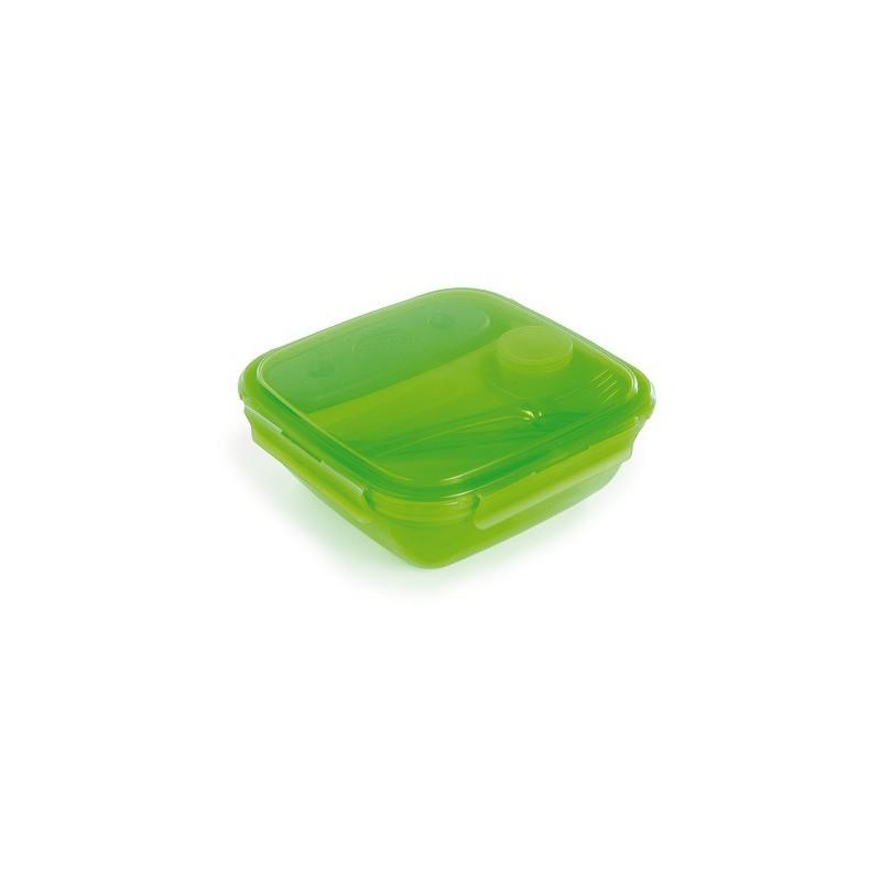 SNIPS ENERGY - lunch box z wkładem chłodzącym 1,5L zielonym