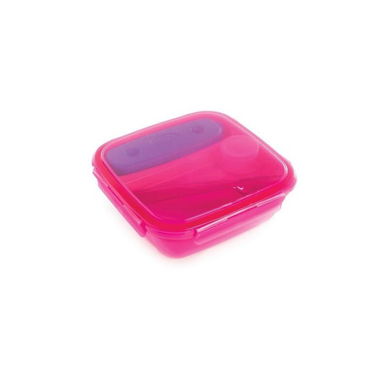 SNIPS ENERGY - lunch box z wkładem chłodzącym 1,5L różowy