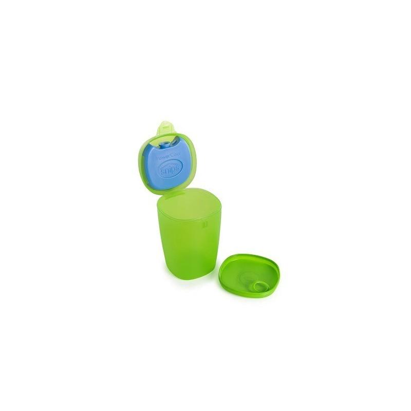 SNIPS ENERGY - pojemnik na owoce i jogurt z wkładem chłodzącym 0,5L zielony