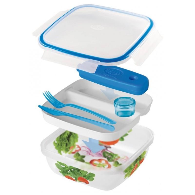 SNIPS TAKE AWAY ICE - lunch box z wkładem chłodzącym 1,5L