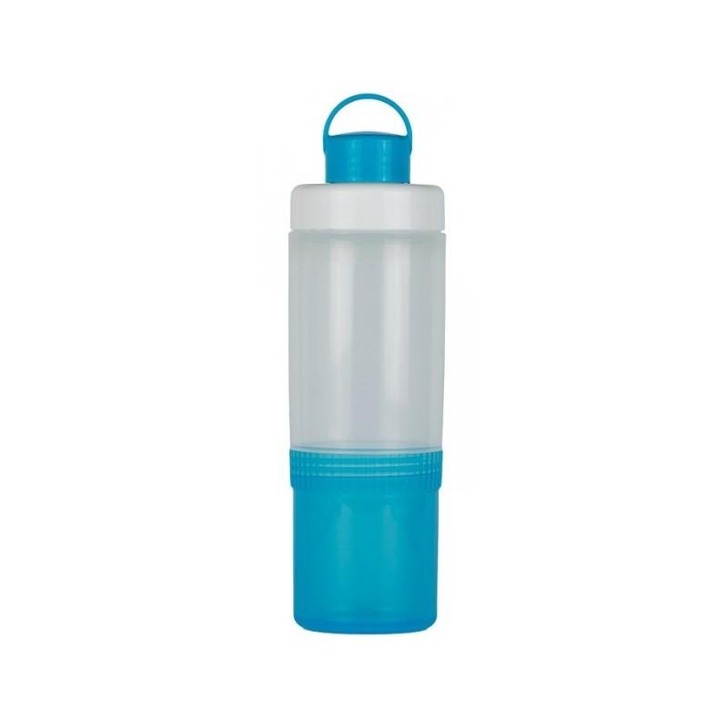 SNIPS LUNCH EAT&DRINK - butelka z pojemnikiem 0,4L + 0,25L niebieska