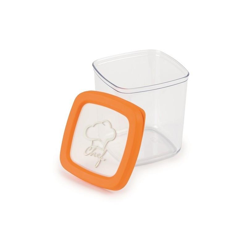 SNIPS AROMA KEEPER - pojemnik hermetyczny 1L pomarańczowy (chef)