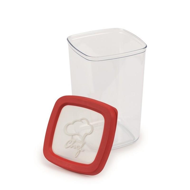 SNIPS AROMA KEEPER - pojemnik hermetyczny 1,5L czerwony (chef)
